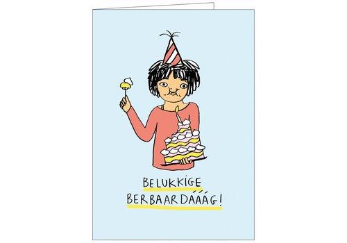 Kaart Eva Mouton  (verjaardag)