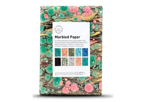 Studio Arhoj Paper Card - Marbled Paper
