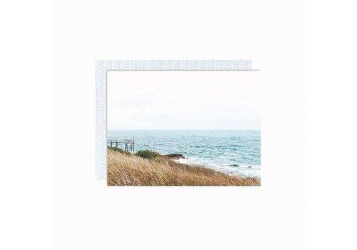 Paper Card - Wave - met envelop