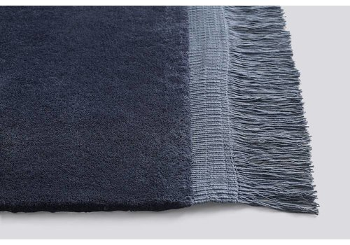 HAY Raw Rug - Midnight Blue - 140x200cm