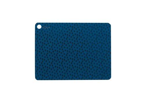 OYOY Placemats - muni - blue - 2 pcs