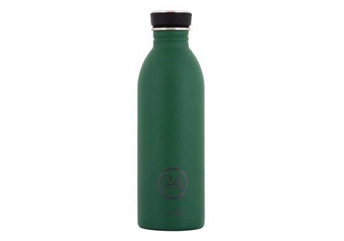 24 Bottles Urban Bottle - 0.5L - Stone - Jungle Green