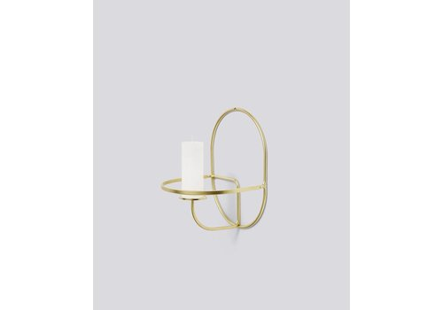 HAY LUP Wall - Round - brass
