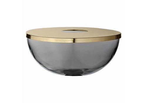 AYTM Tota - Vase/Bowl - Glass/Brass