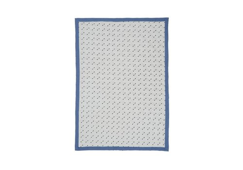 OYOY Quilted Blanket - Blue - 70x100cm