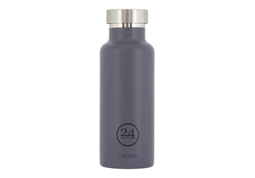 24 Bottles Thermo Bottle - 0.5l - Formal Grey