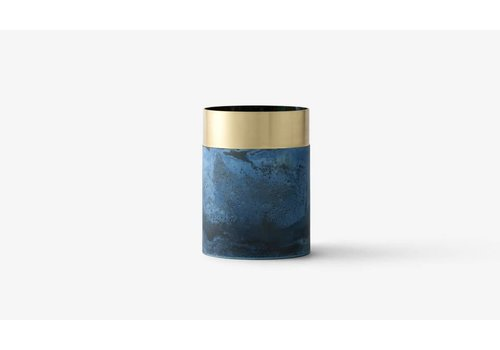 &Tradition LP5 - true color vase - blue brass