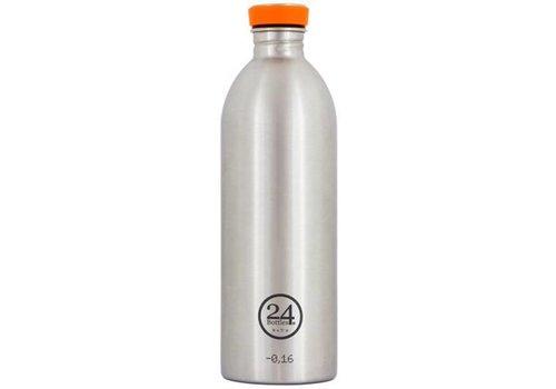 24 Bottles Urban Bottle - 1L - Steel