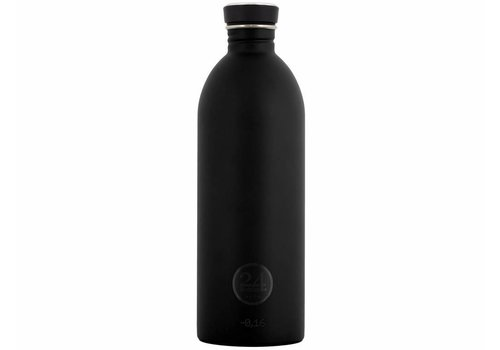 24 Bottles Urban Bottle - 1L - Tuxedo Black