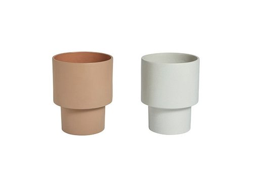 OYOY Kana Pots - Medium - Caramel
