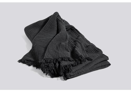 HAY Crinkle bedspread - Anthracite