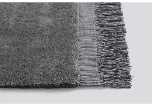 HAY Raw Rug - Anthracite - 140x200cm