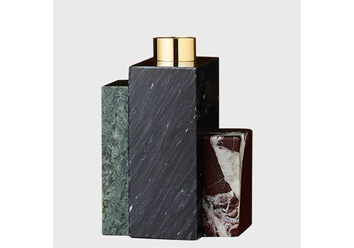 AYTM Frustum - Marble candle holder - Low