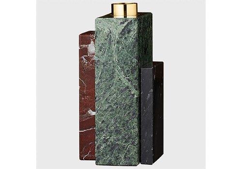 AYTM Frustum - Marble candle holder - High