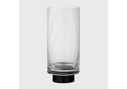 Vitreus - Vase - Clear & Black - S
