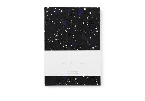 Normann Copenhagen Daily fiction - Notebook - Space Stone Dark - Large
