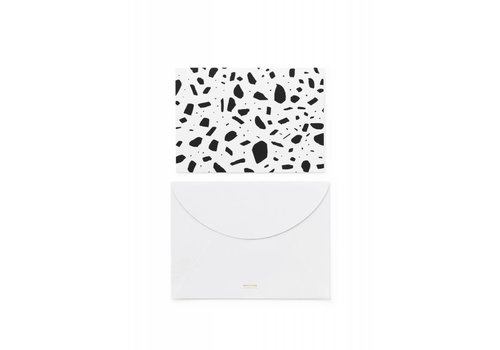 Normann Copenhagen Daily fiction - Greeting Card - Serious Structure