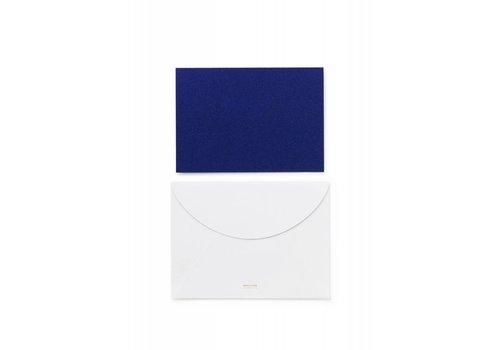 Normann Copenhagen Daily fiction - Greeting Card - Blue Glitter