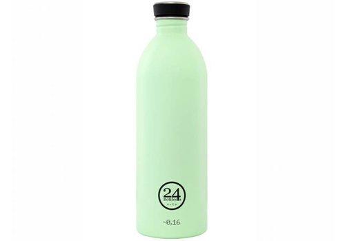 24 Bottles Urban Bottle - 1L - Pistachio Green