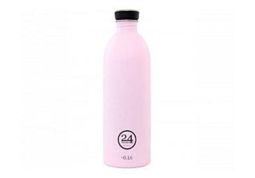 24 Bottles Urban Bottle - 1L - Candy Pink