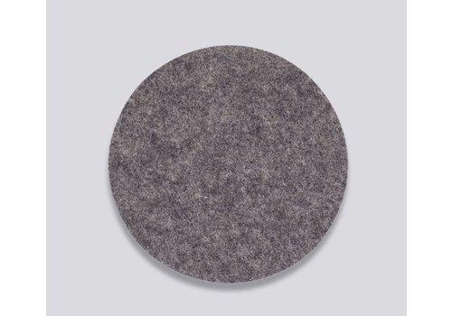 HAY Coaster - Dark grey - Glass