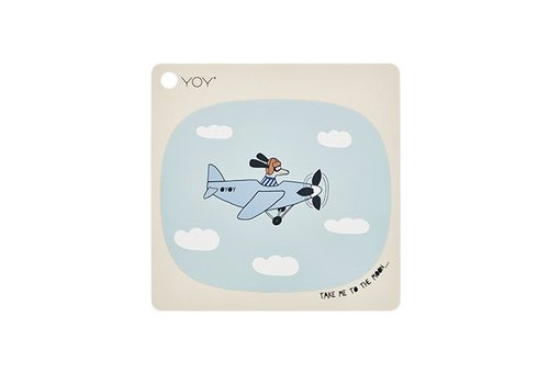 OYOY Placemat - kids - take me to the moon - square