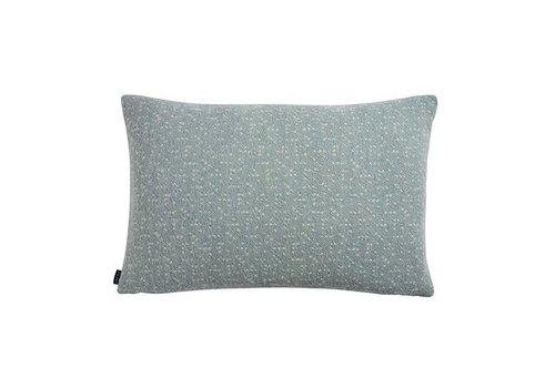 OYOY Cushion - Tenji - dusty aqua / off white