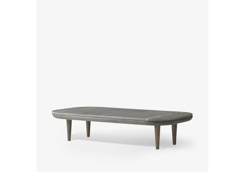 &Tradition Fly Table - SC5 - Smoked oiled oak base with honed Pietra di Fossena marble