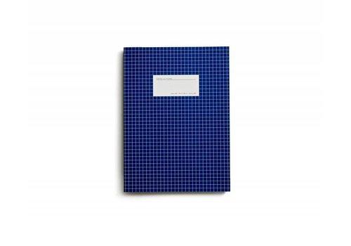 Notebook - Large - Grid - Dark Blue