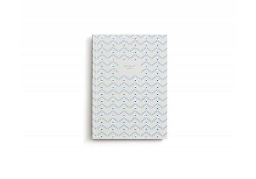 Notebook - Small - Brilliant Ideas - Light Blue