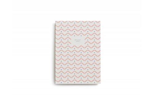 Notebook - Small - Brilliant Ideas - Rose