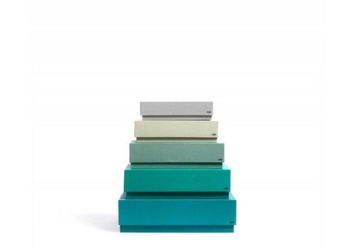 HAY boxbox - desktop - green - set of 5 **