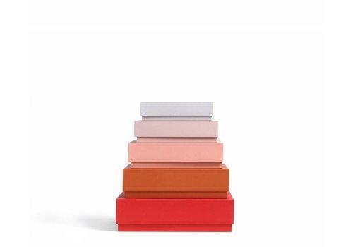 HAY boxbox - desktop - red - set of 5 **