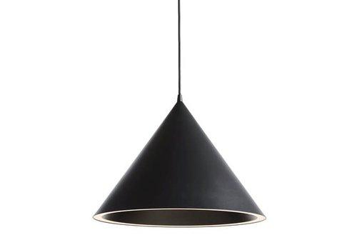 Woud Annular pendant - large - black