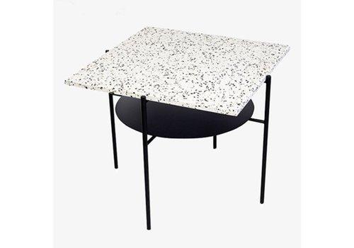 OK Design Confetti Coffee Table - Black + Black & White