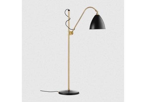 Gubi Bestlite BL3 - Medium - Floor lamp - Charcoal black/brass
