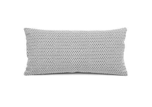 Canvas cushion - drop black - 35 x70
