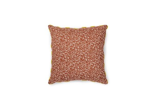 Normann Copenhagen Posh cushion - Busy structure - Caramel