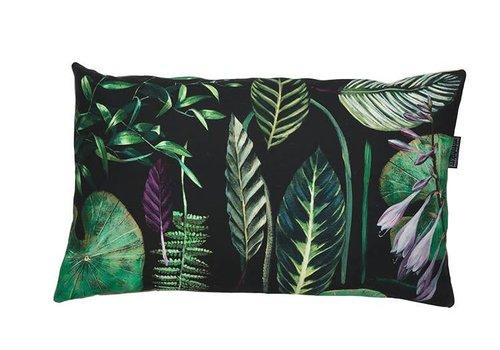 Sonje3 - cushion - green leaves - 65x40