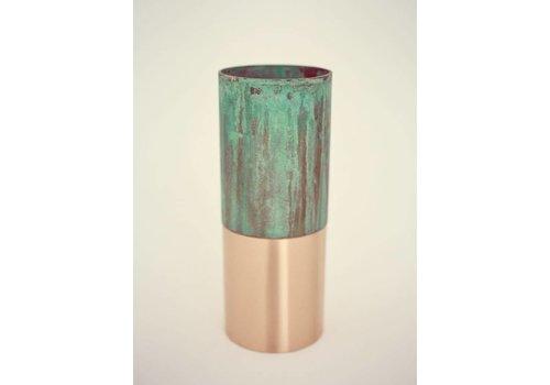 &Tradition True Color Vase-LP3-green copper