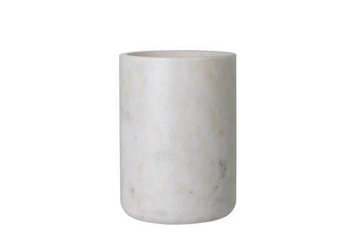 Louise Roe LR _ Maya Vase White Marble