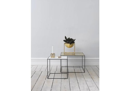 Bylassen Twin 35 table - black frame