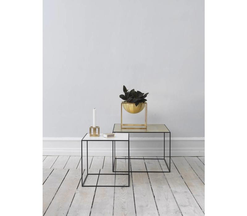 Twin 35 table - black frame