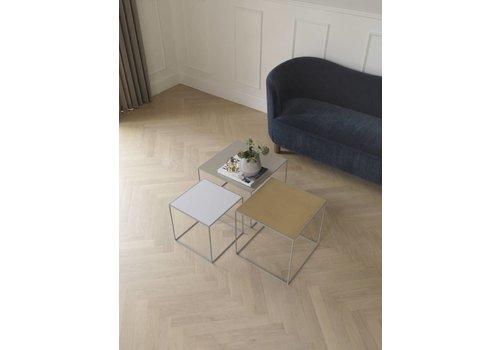 Bylassen Twin 35 table - grey frame