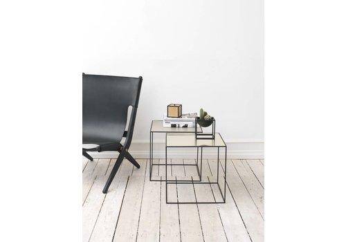 Bylassen Twin 42 table - black frame