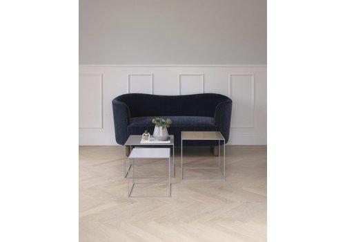 Bylassen Twin 49 table - grey frame