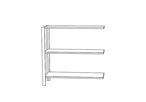 AYTM Omni shelving system - low double