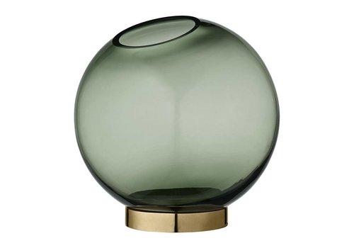 AYTM Globe vase with stand Medium