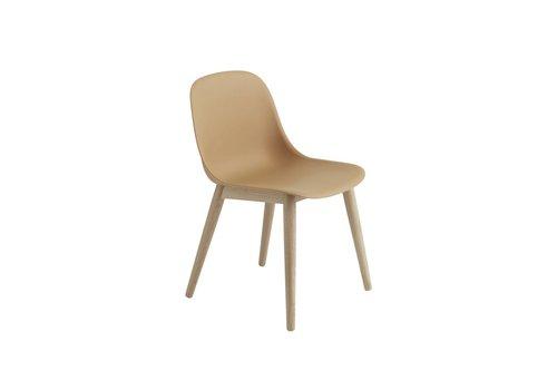 MUUTO Fiber side chair wood base
