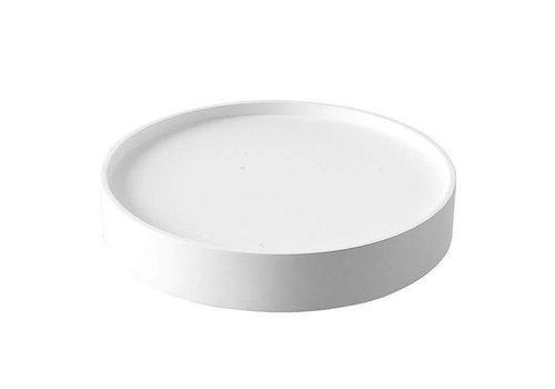 Softline Drum tray - White - dia. 60